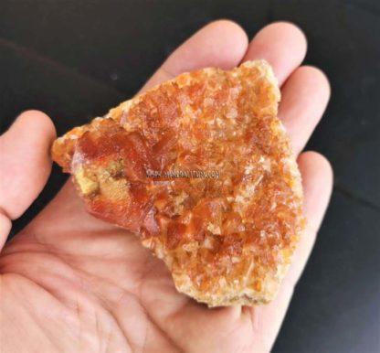 Calcita-naranja-corazón