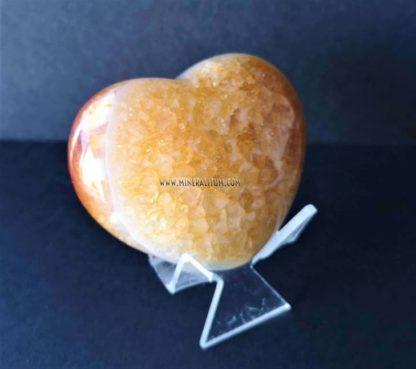 Cuarzo-cornalina-corazón