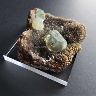 Fluorite-quartz-China